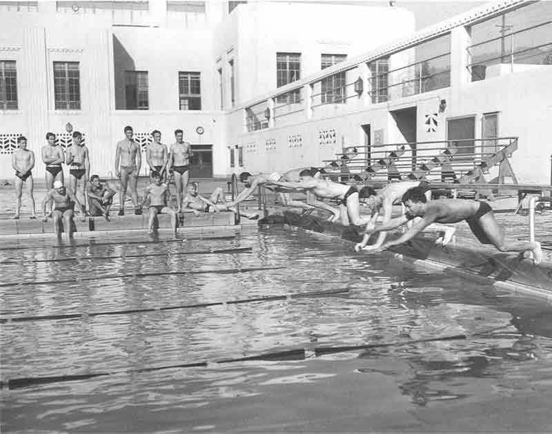Swimming - Harmon Pool 1940's