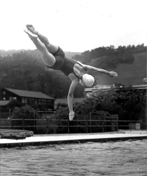 Women's Diving - Hearst North Pool 1940's