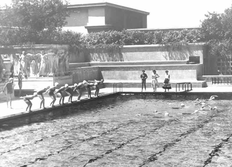 Women's Swimming - Hearst North Pool 1950's