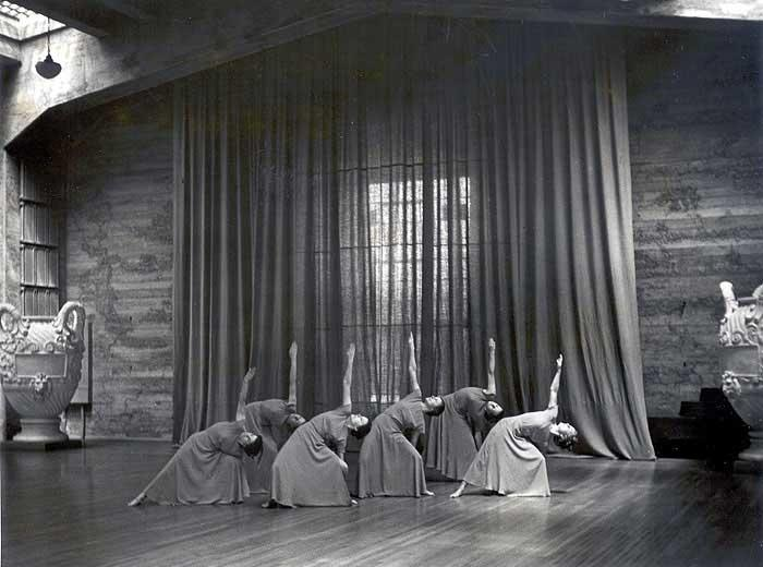 Orchesis - Early 1930's 230 Hearst Gym