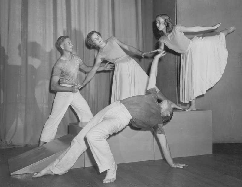 Modern Dance - 230 Hearst Gym late 1950's