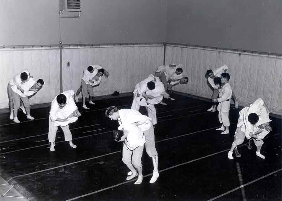 Judo - Harmon Gym 1950's