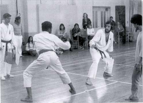 Karate - Hearst Gym 1970's
