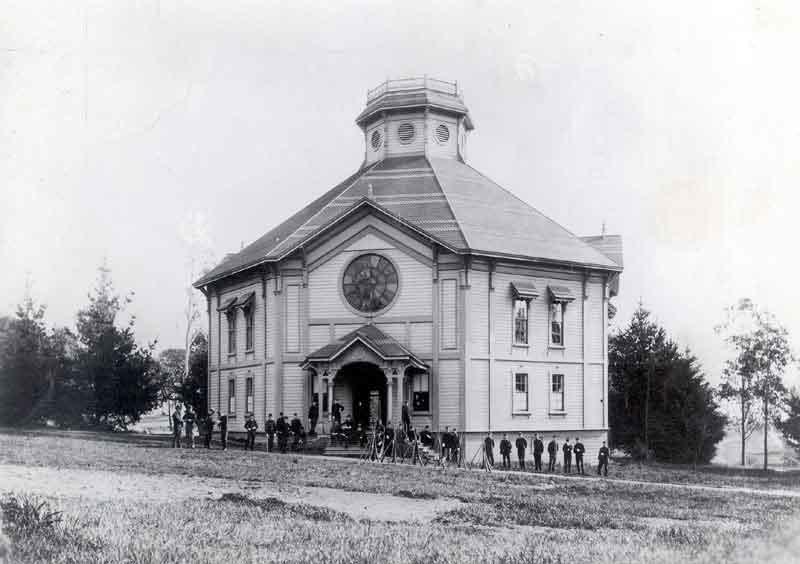 Original Harmon Gymnasium for Men Constructed 1879