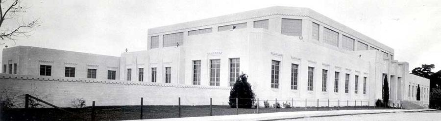 The New Harmon Gymnasium for Men Constructed 1933