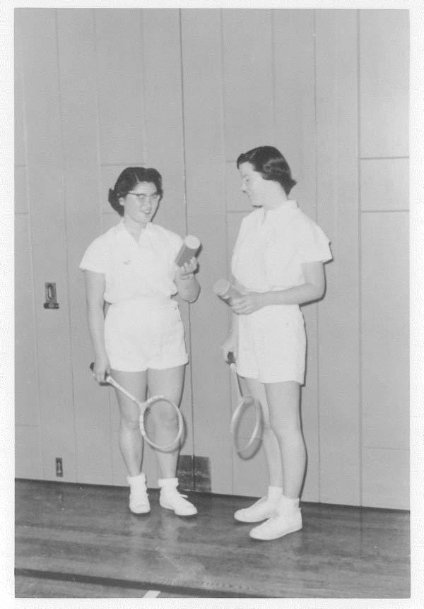 Women's Badminton 1950's