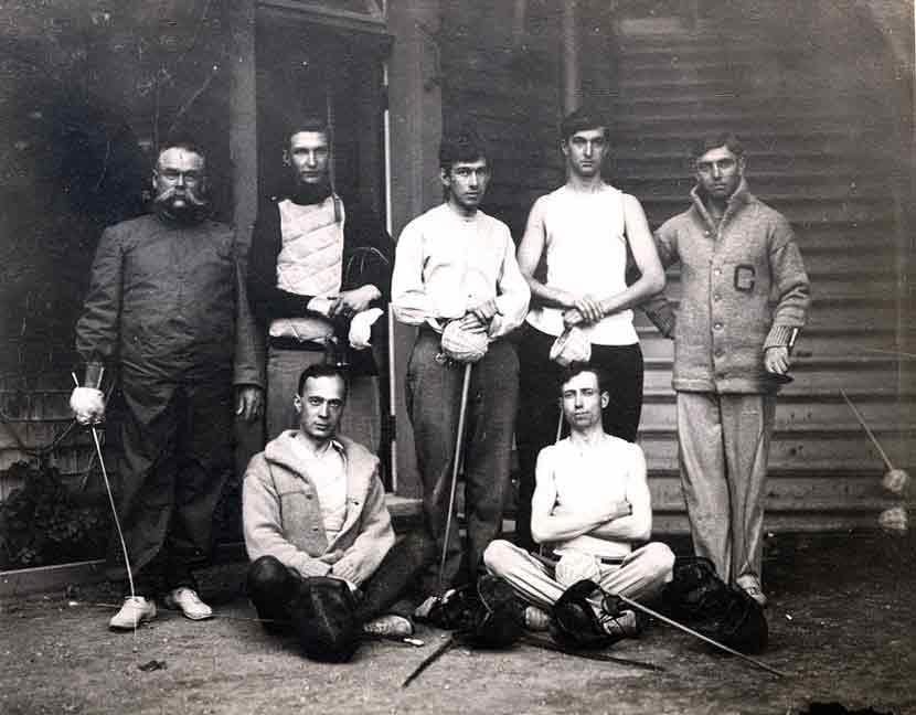 Fencing - Original Harmon Gymnasium 1902