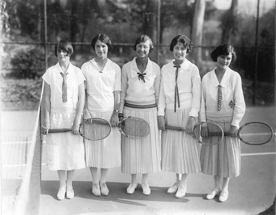 Women's Tennis Team 1920's